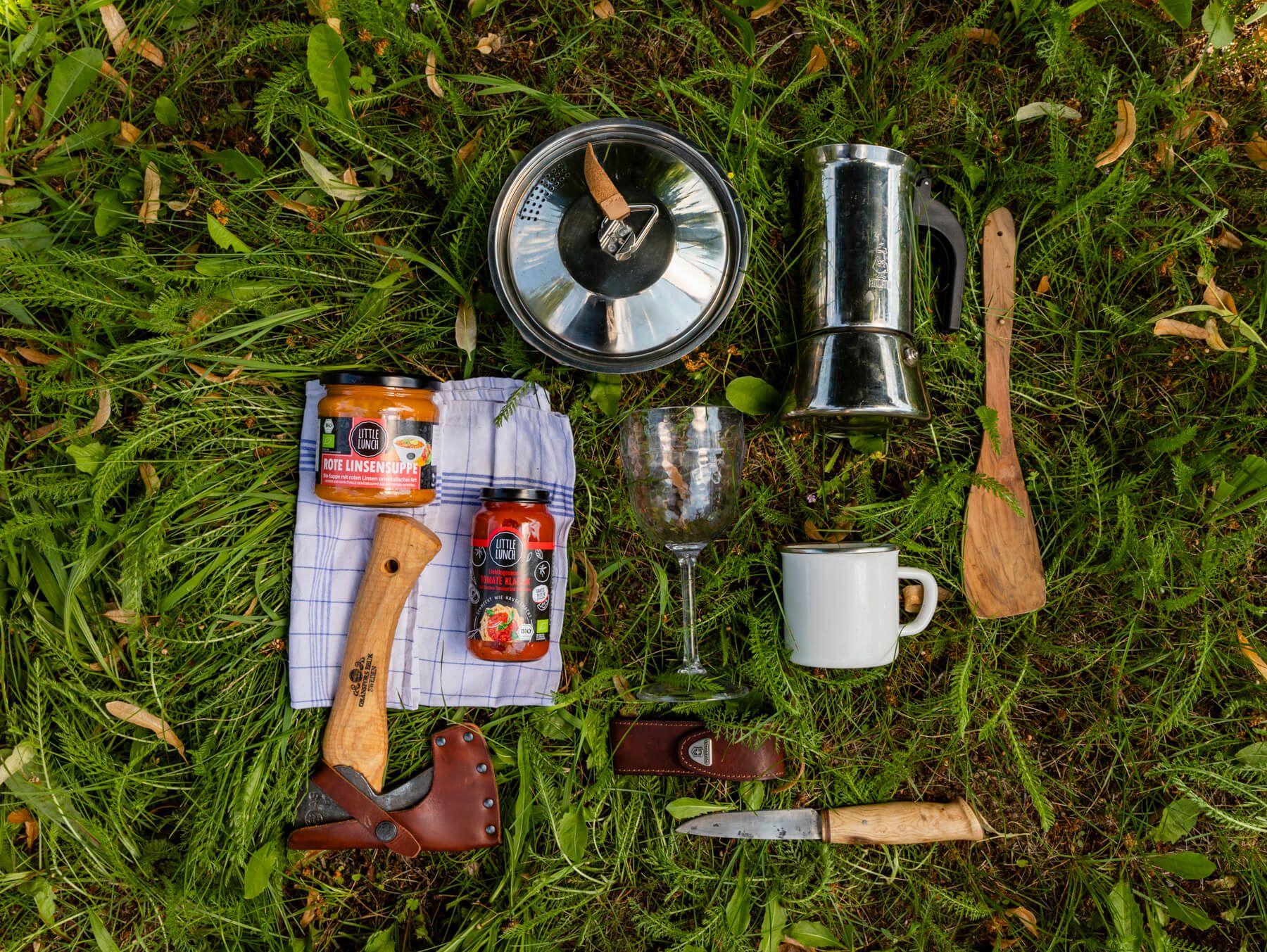 Outdoor Kochen Schnelle Einfache Camping Rezepte Little Lunch
