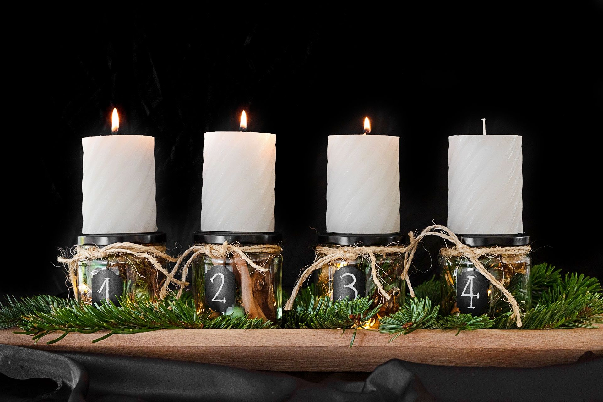 DIY: Adventskranz